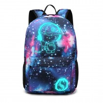 E6880 --KONO GALAXY GLOW IN BRARK BACKBACK BLUE