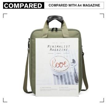 E6892-COTTON HANDBAG SHOULDER BAG PORTABLE TRAVEL BAG GREEN