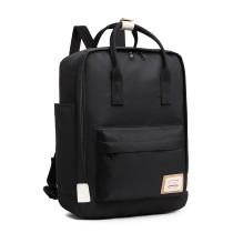 EB2017 - Kono Duży Plecak na laptopa z poliestru - Czarny