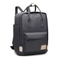 EB2017 - Kono Duży Plecak na laptopa z poliestru - szary