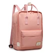 EB2017 - Kono Duży Plecak na laptopa z poliestru - różowy