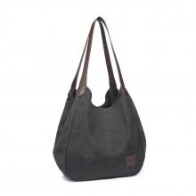 EB2040 - Kono Cabas en toile à bandoulière - Noir