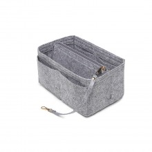 EB6932 - Kono Multi Compartment Handbag Organiser - Light Grey