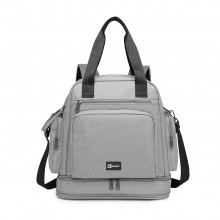 EG6930 - Kono Multi Way Travel Baby Changing Bag - Grey