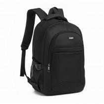 EQ2042 - Kono Klasyczny Praktyczny Plecak - Czarny