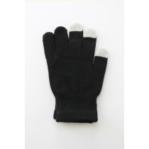 Unisex Touch Screen Gloves Black