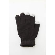 Unisex Touch Screen Gloves Dark Coffee