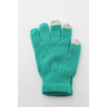 Unisex Touch Screen Gloves Green