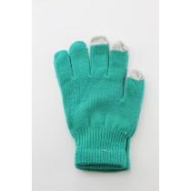 Unisex Touch Screen Gloves Green