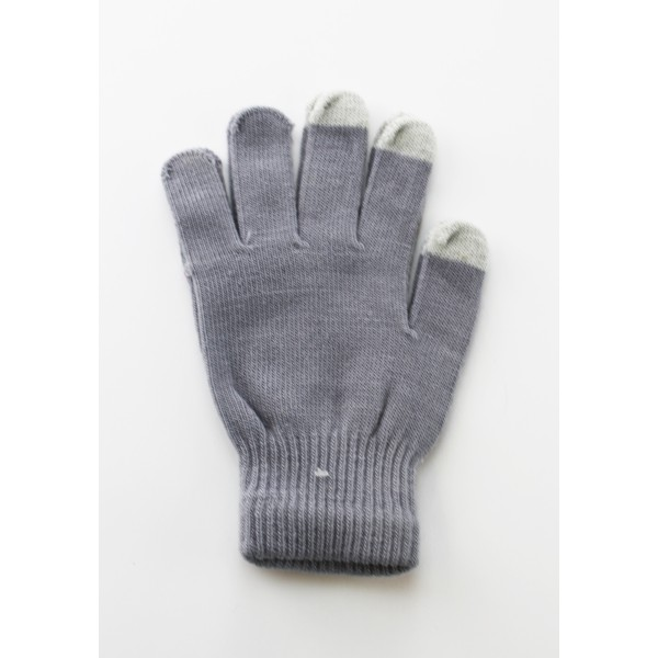 Unisex Touch Screen Gloves Grey