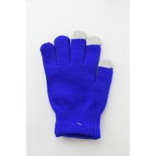 Gants Tactiles Unisex en Bleu Marine