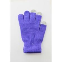 Unisex Touchscreen Handschuhe Lila