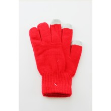 Gants Tactiles Unisex en Prune