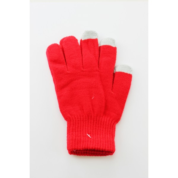 Unisex Touch Screen Gloves Plum