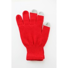 Unisex Touch Screen Gloves Red