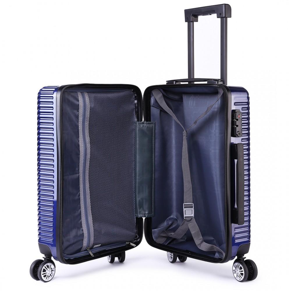 k1775l shavont deluxe hard shell 20 39 39 cabin size luggage. Black Bedroom Furniture Sets. Home Design Ideas