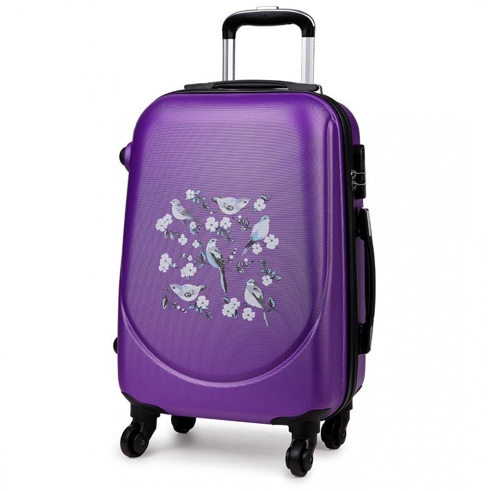 k1776 16j pe 20 hard shell 4 wheel spinner suitcase abs. Black Bedroom Furniture Sets. Home Design Ideas