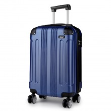 K1777 - Kono 19 Inch ABS Hard Shell Suitcase Luggage - Navy