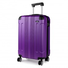 K1777 - Kono 19 Inch ABS Hard Shell Suitcase Luggage - Purple
