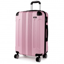 K1777 - Kono 28 Inc ABS Hard Shell Suit case Bagage- Pink