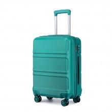 K1871-1L - Kono ABS 20 Zoll Geformtes horizontales Design Board-Gepäck - Blaugrün