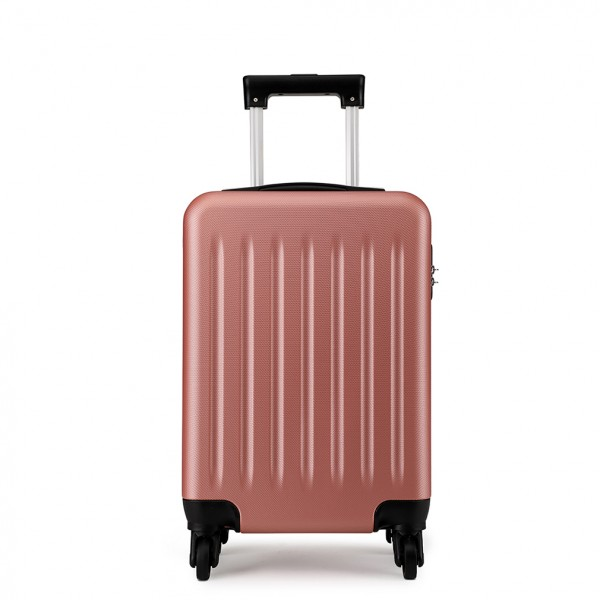 K1872L - KONO CABIN SIZE LUGGAGE - SUITABLE FOR ALL AIRLINES - NUDE