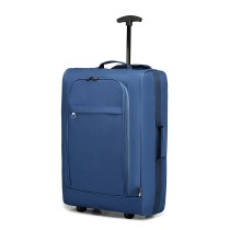 K1873-2-KONO TAMAÑO DE CABINA SOFT SHELL HAND LUGGAGE-BLUE