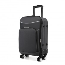 K1994-KONO SOFT SHELL WATERPROOF SUITCASE GRAU