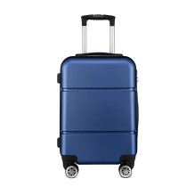 49/5000 K1995-KONO HARD SHELL ABS LLEVAR EN SUITCASE NAVY