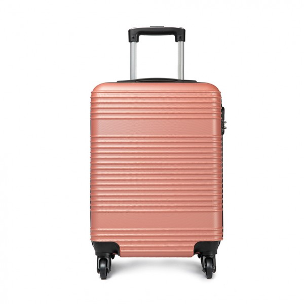 K1996 - KONO ABS HARD SHELL CARRY ON SUITCASE - NUDE