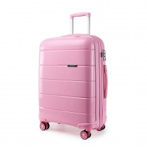 K1997L - KONO 28 INCH HARD SHELL PP SUITCASE - PINK