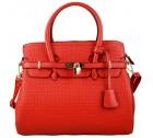 Miss Lulu Boston Bag L1413 Red