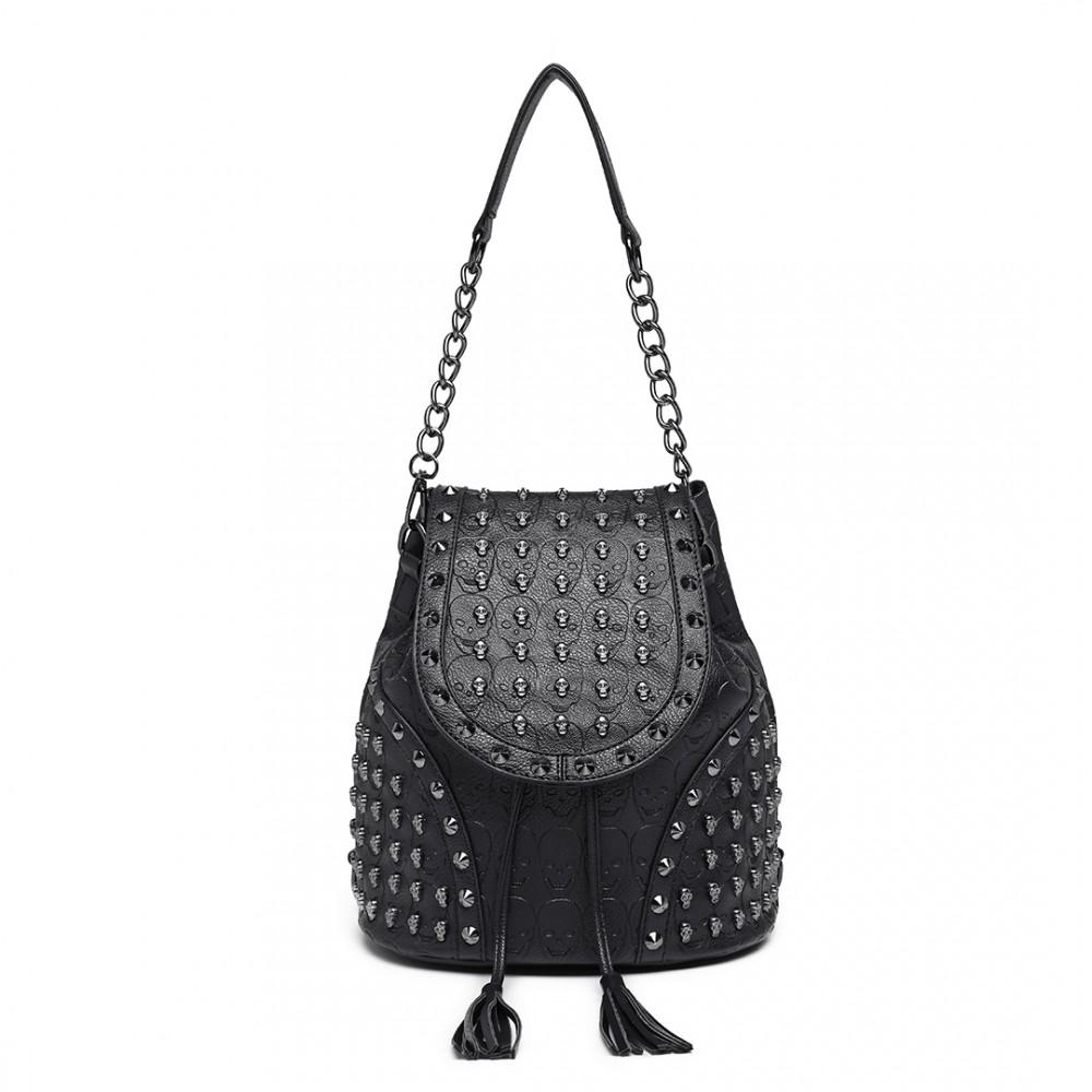 0761549ffcf Black Studded Handbags Uk