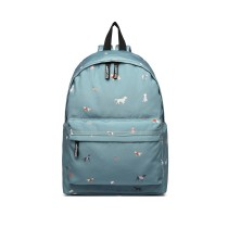 LB127 - MISS LUU'DOGS IN JUMPERS'BACKPACK - BLUE