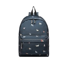 LB127 - MISS LUU'DOGS IN JUMPERS'BACKPACK - NAVY