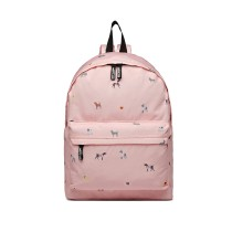 LB127 - MISS LUU'DOGS IN JUMPERS'BACKPACK - PINK