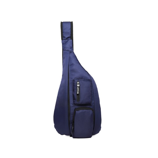LB1934 - KONO CASUAL SINGLE STRAP SLING BACKPACK - BLUE