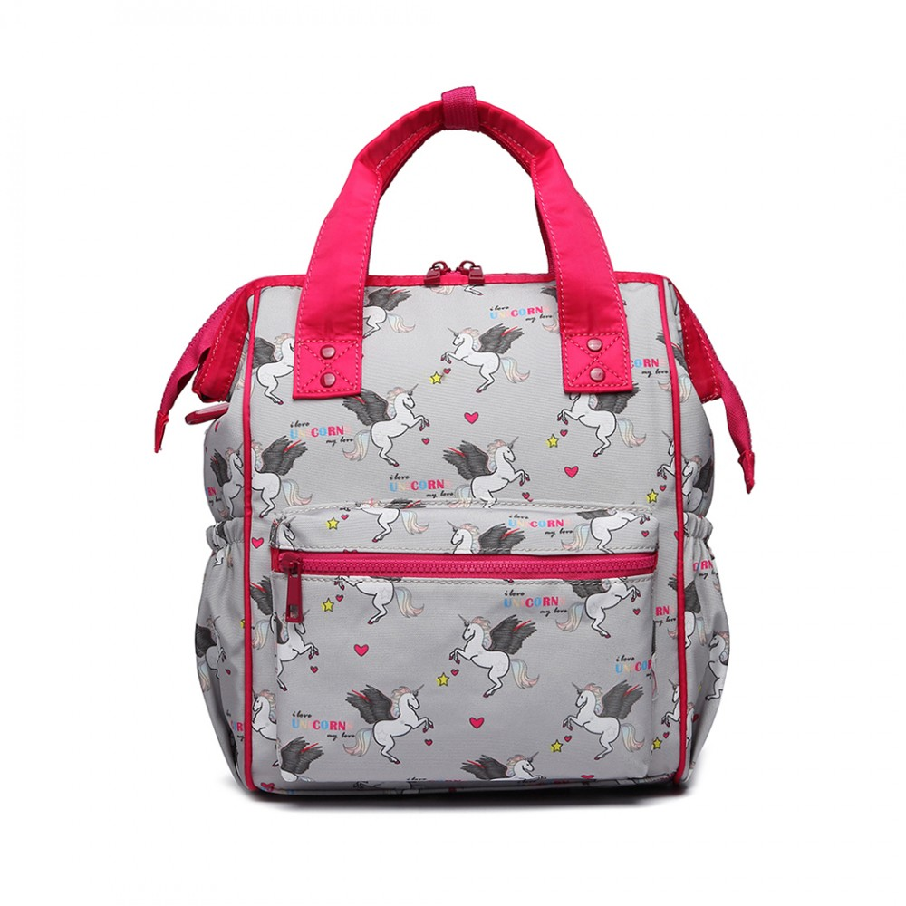 Lb6896 Miss Lulu Child S Unicorn Backpack With Pencil