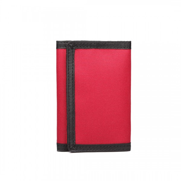 LB6897 - Miss Lulu Child's Tri-fold Wallet - Red
