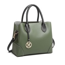 LG1973 --Miss Lulu Pu Leather Shoulder Bag --Green