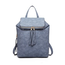 LG6903 - Panna Lulu rozszerzalna Fashion Backpack - Blue