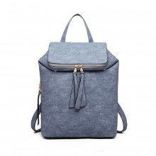 LG6903 - Miss Lulu Expandable Fashion Rucksack - Blau