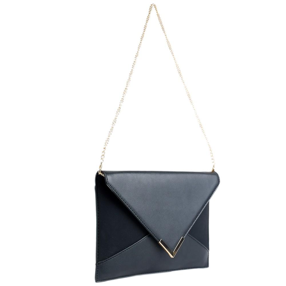 Pochette en cuir Triangle yllopUeeBm