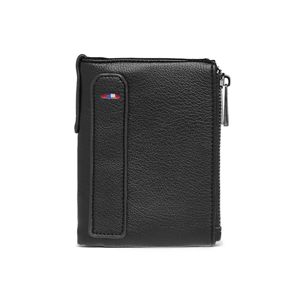 LP2021 - Kono Leather Look Wallet - Black