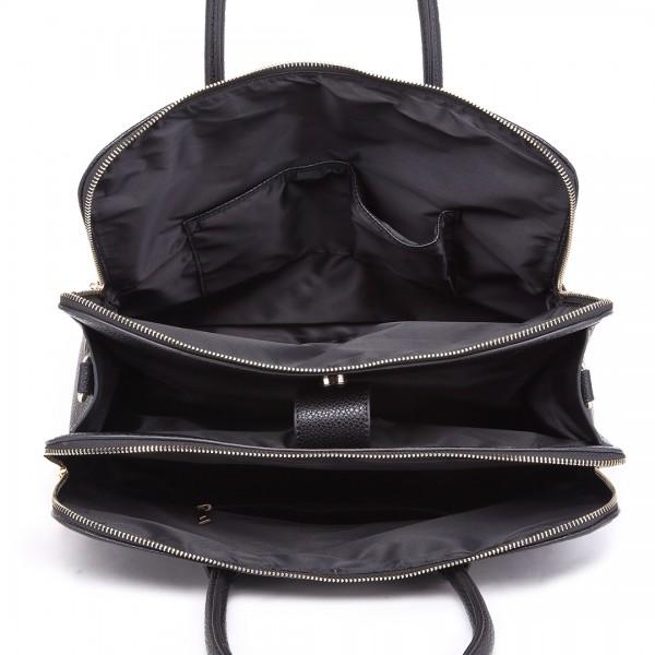 24bb3389d878 LT1726 à Mlle Textured tout redressement pu-r Leather Medium Classic Tote  Bag Shoulder Bag