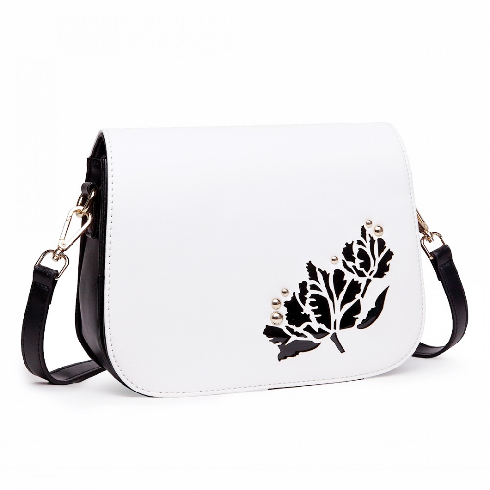 Shop black white satchel bag at Neiman Marcus, where you will find free shipping on the latest in fashion from top designers.