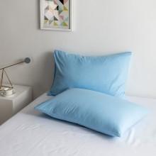 100% Poly Baumwolle Luxus Sanft Kissenbezug einstellen - Blau