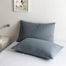 100% Poly Baumwolle Luxus Sanft Kissenbezug einstellen - Grau