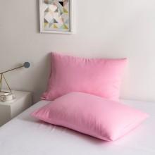 100% Poly Baumwolle Luxus Sanft Kissenbezug einstellen - Rosa