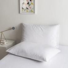100% Poly Cotton Luxury Soft Pillowcase Set - White